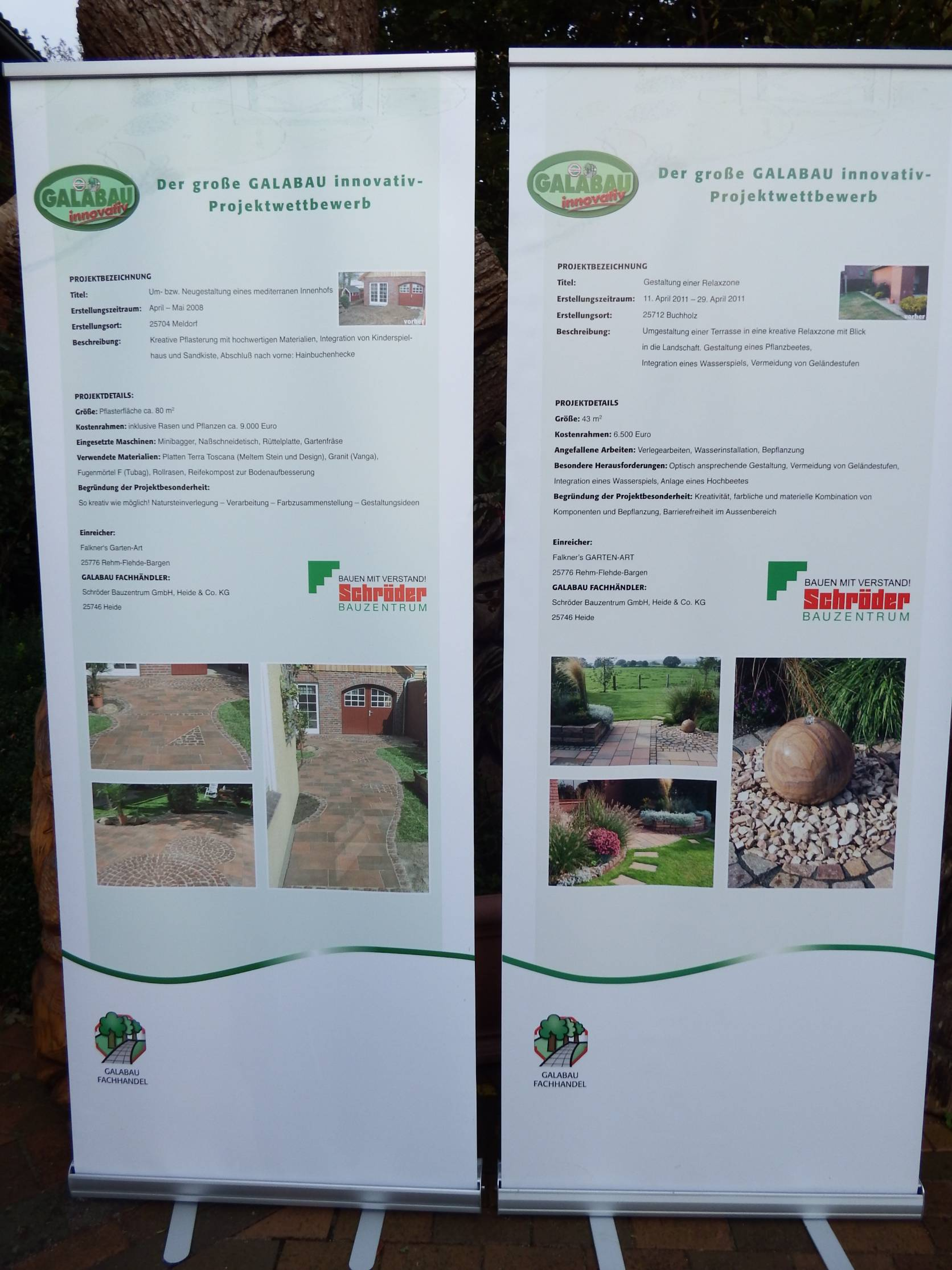 Gartengestaltung /Landschaft